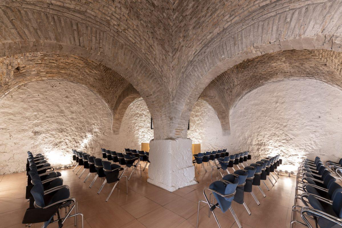 Reuniones y congresos en castillo Santa Catalina de Jaén /// Meetings and congresses in Santa Catalina Castle of Jaen