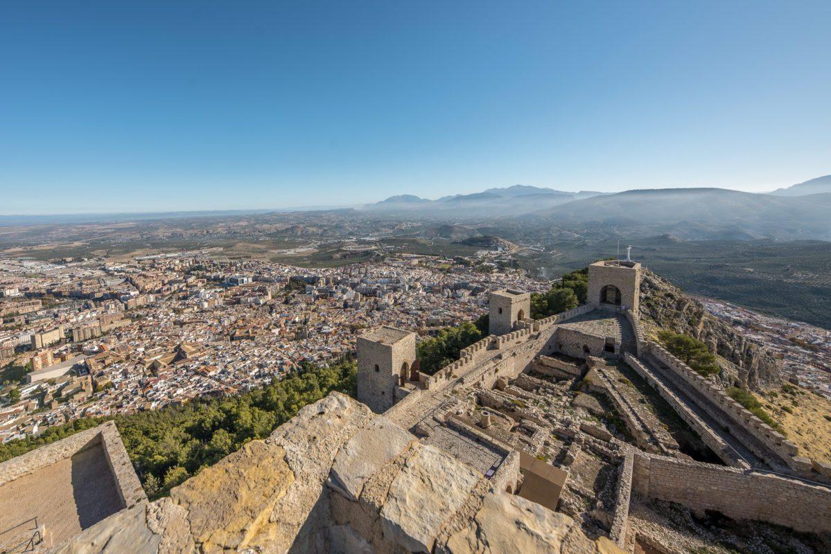 Vistas desde del castillo de Jaén /// Views from the castle of Jaen