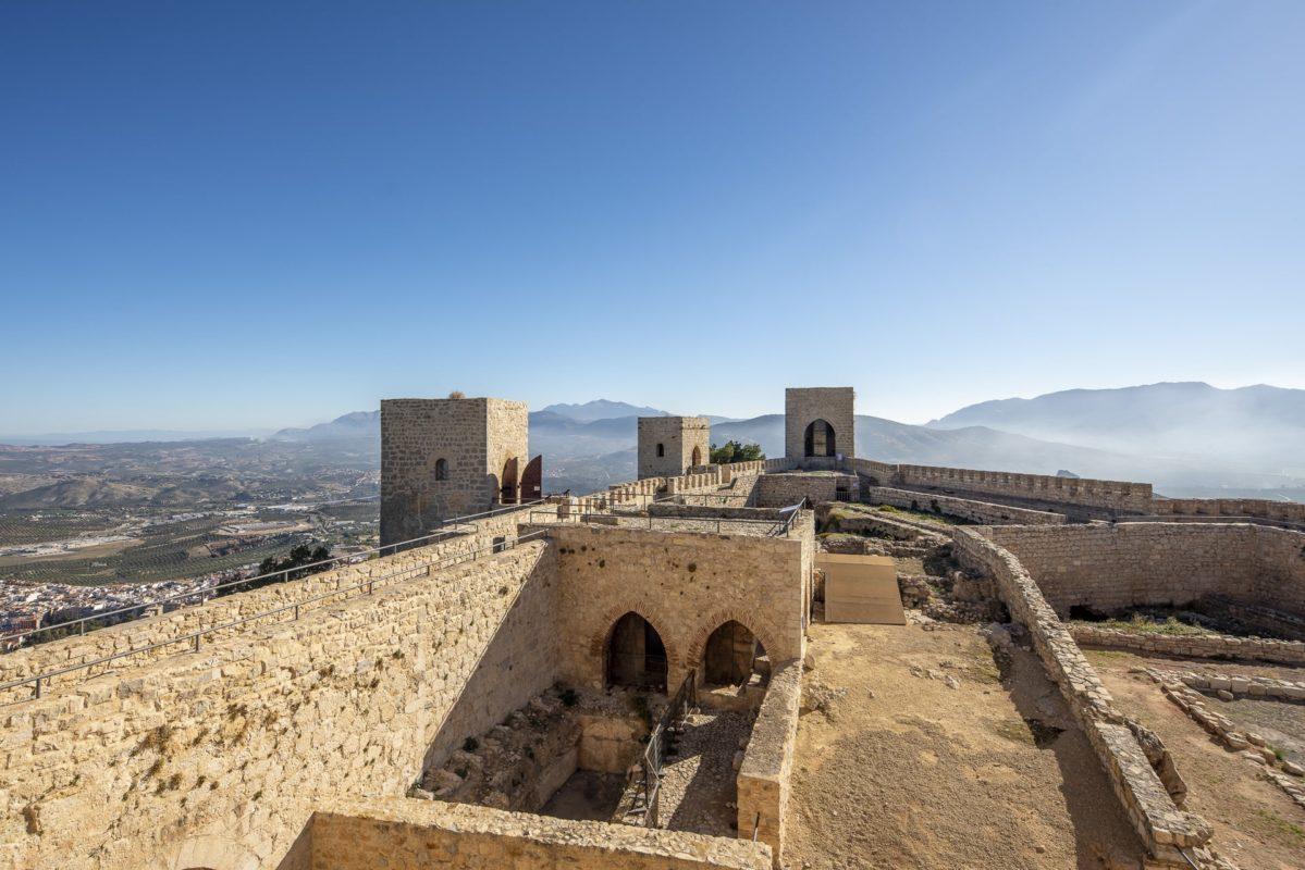 Época cristiana en el castillo de Jaén