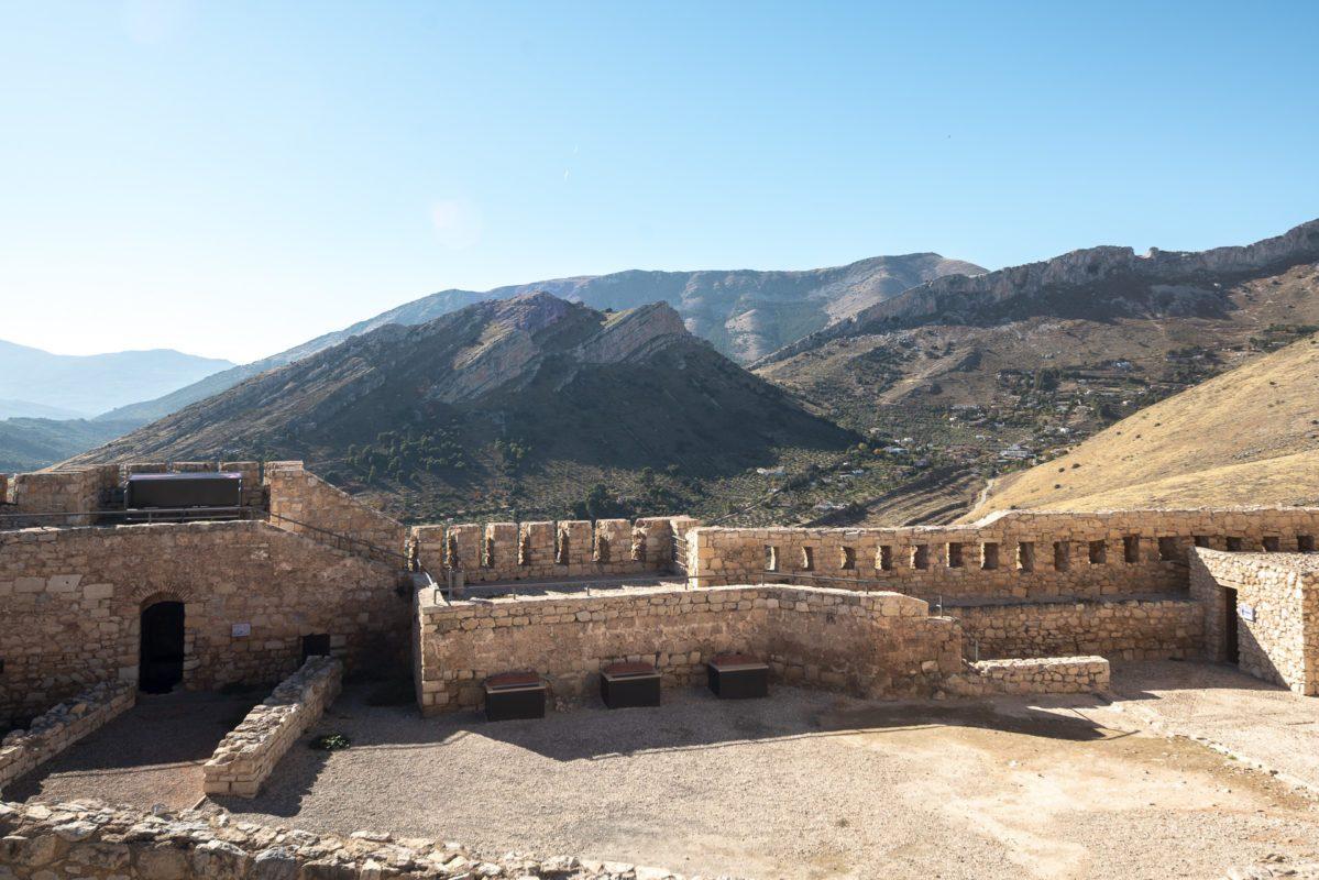 Vistas del paisaje desde el Castillo de Jaén /// Landscape views from the castle of Jaen