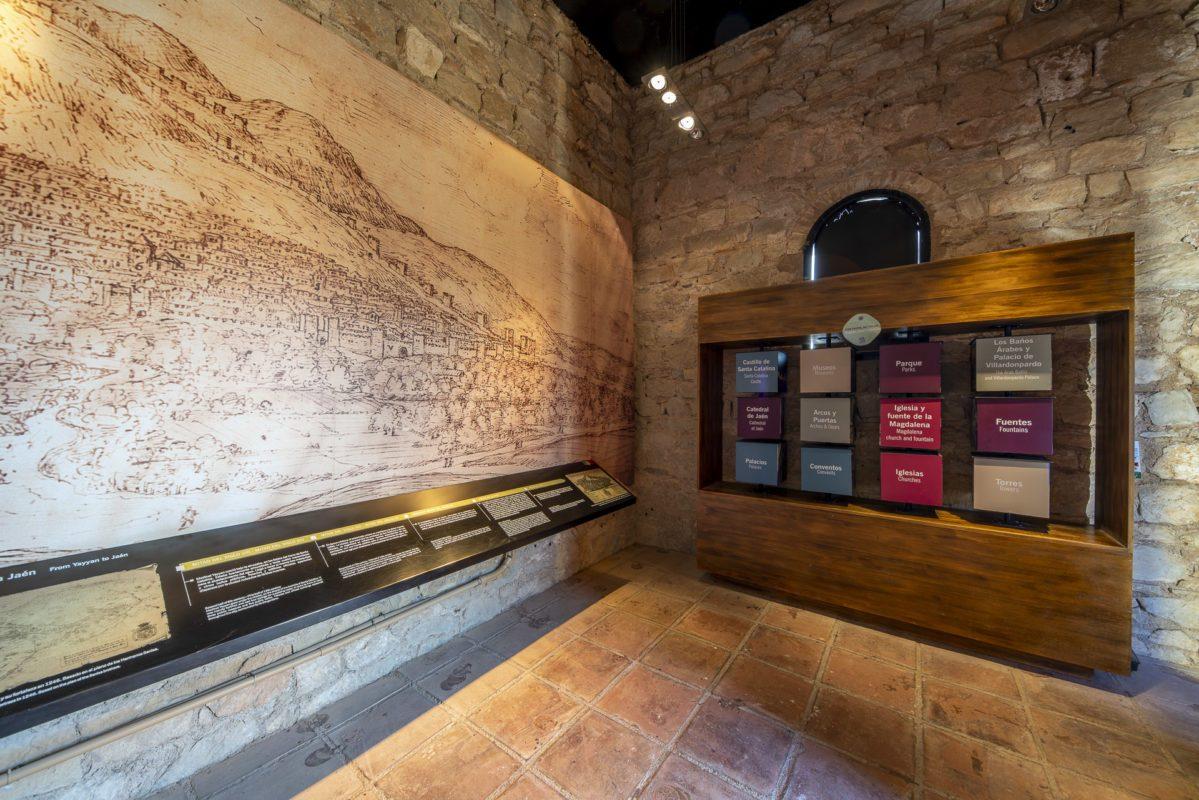 El castillo de Jaén  y la ciudad en el s. XVI /// The castle of Jaen and the city in the 16th century