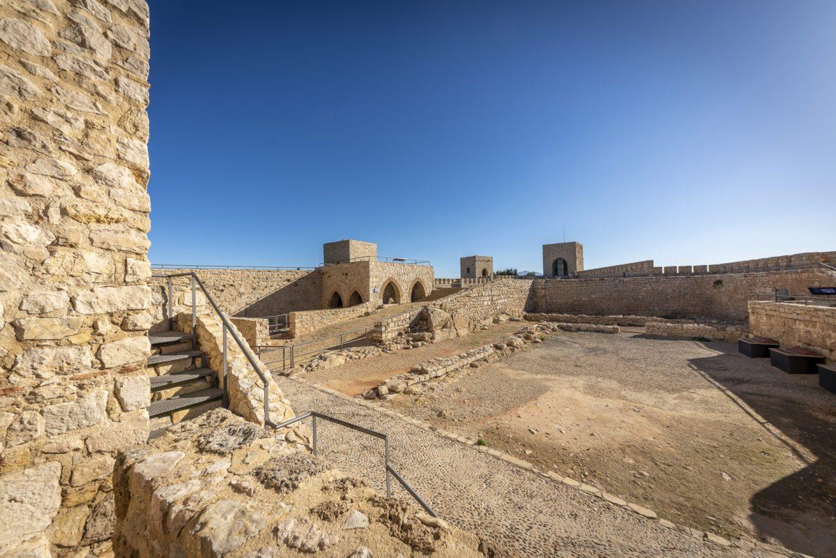 Guerra de la independencia en el castillo Santa Catalina de Jaén