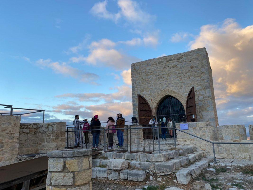 turistas entrada torre