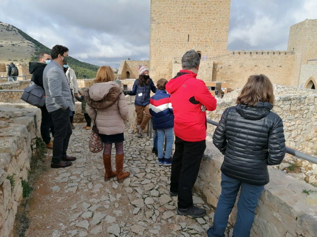 turistas muralla visita